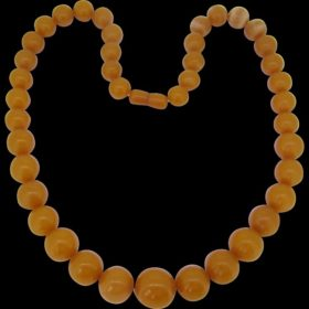 Vintage Natural Baltic Amber Necklace