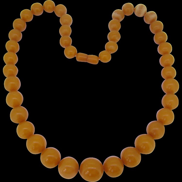 Vintage Natural Baltic Amber Necklace