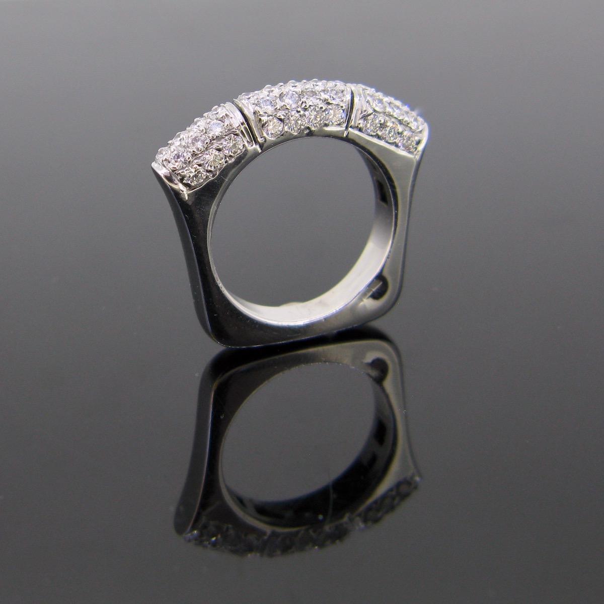 Modern Diamonds Pavé Ring