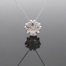 Flower Diamonds Pendant on Chain