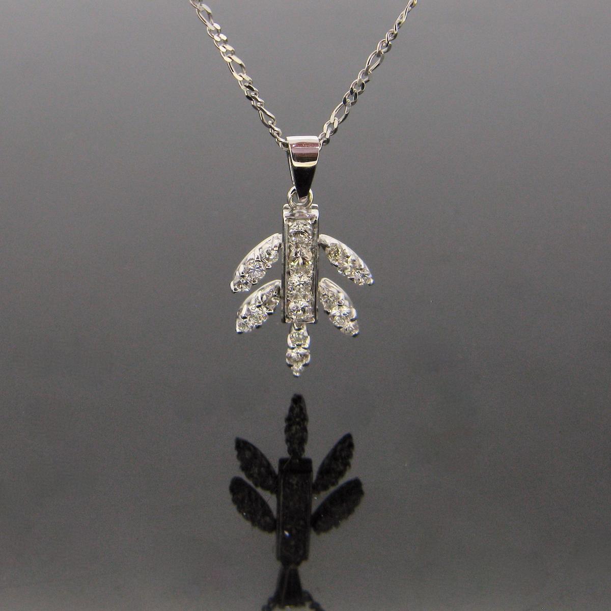 Diamonds Pendant Necklace