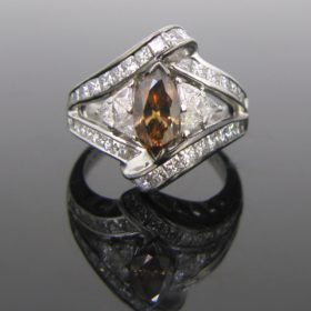Mouawad Brown Diamond Ring