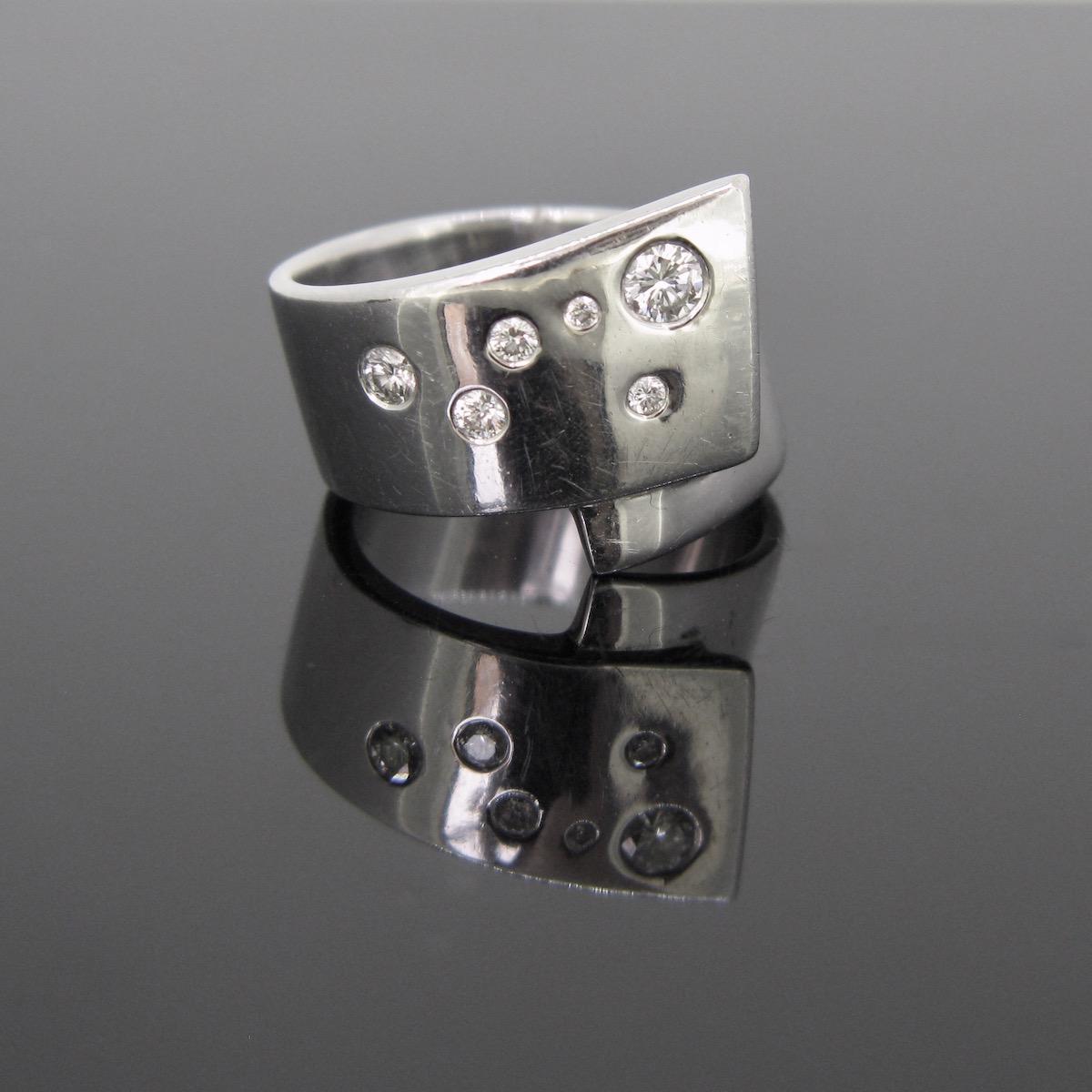 Constellation Diamonds Ring
