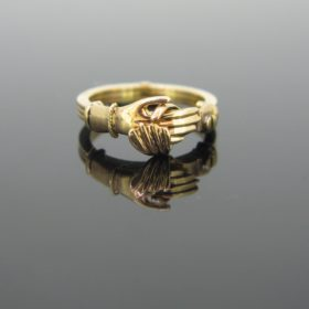 RARE Fede ring / Gimmel Ring
