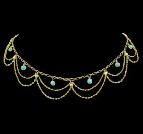French Turquoises Necklace