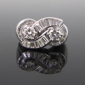 Diamonds Platinum Ring by MAUBOUSSIN