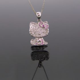 Hello KITTY Diamonds Pendant