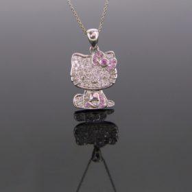 Hello KITTY Diamonds Pendant
