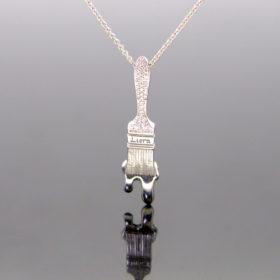Liora 7/25 Diamonds Pendant on chain