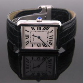 Tank Solo Steel Watch by CARTIER