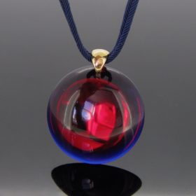 Psychedelic Round Pendant by BACCARAT