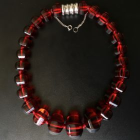 Red Crystal Collar by BACCARAT