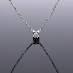 Diamond Pendant Necklace by DINH VAN