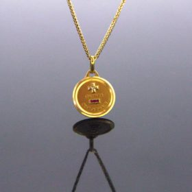 French Love Medal by AUGIS