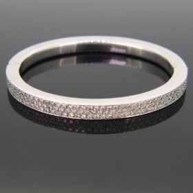 Brilliant Cut Diamonds Bangle