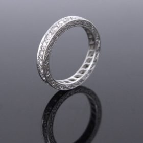 Art Deco Diamonds Eternity Ring