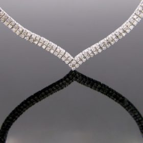 Riviere Diamonds Necklace