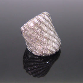 Important Diamonds Cocktail Ring