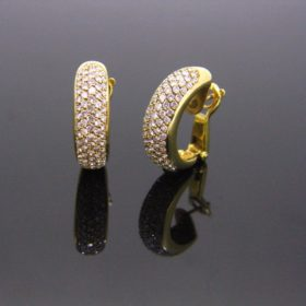Creoles Diamonds Earrings