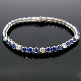 Sapphires & Diamonds Bracelet