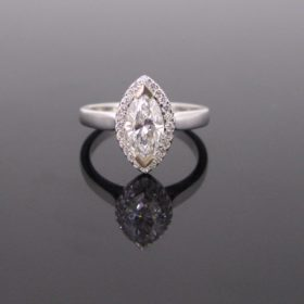 Marquise Cut Diamonds Ring