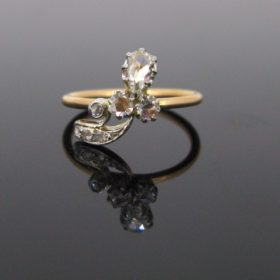 Victorian Shamrock Diamonds ring