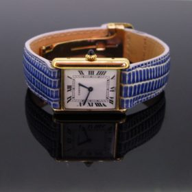 Louis Cartier Tank Wristwatch