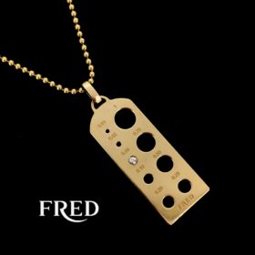 Pendant Tag Collection by FRED Paris