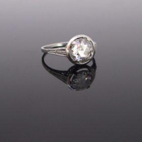 Belle Epoque Rose cut Diamond Ring
