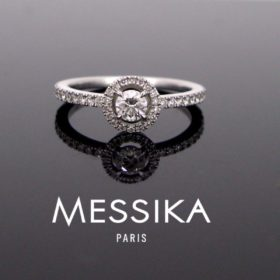 Solitaire Diamonds ring by MESSIKA