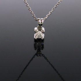 Brilliant cut Diamonds Pendant