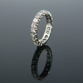 Vintage Diamonds Eternity Ring
