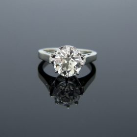 Antique Edwardian Solitaire Diamond Ring