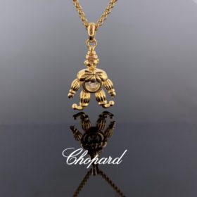 Happy Clown Diamond Necklace by Chopard