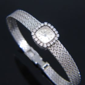 Diamond Watch by Jaeger LeCoultre