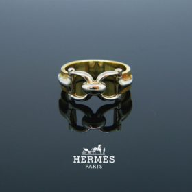 Stir Up Gold Band Ring by Hermès