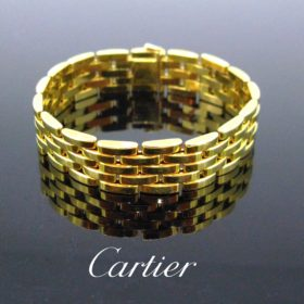Maillon Panthere 5 Rows Bracelet Cartier