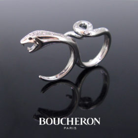 Boucheron Kaa Double Trouble Diamond Ring