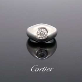Retro Monture Cartier Diamond Gypsy Ring