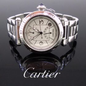 Cartier Pasha Date Automatic Wristwatch