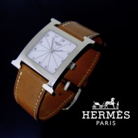 Hermès Heure H Stainless Wristwatch