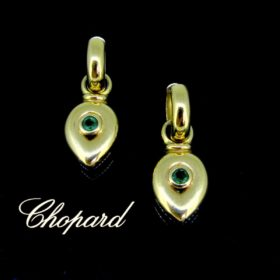 Day & Night Emeralds Earrings by Chopard