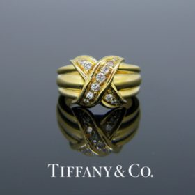 Signature X Diamonds Ring by Tiffany & Co