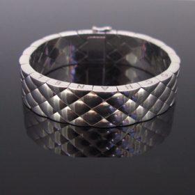 Chanel Matelasse Quilted Bangle Bracelet