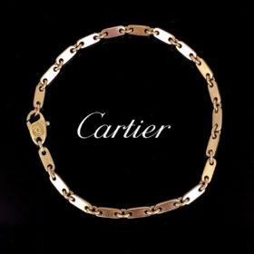 Cartier Figaro Links Yellow Gold Bracelet