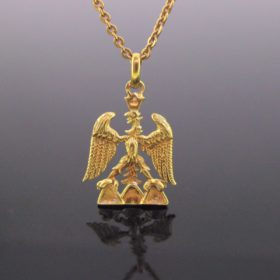 Eagle of Nice pendant by A. GALLET