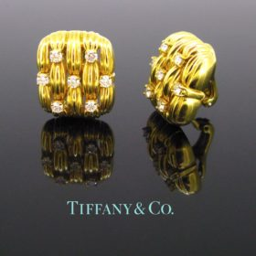 Tiffany & Co. Diamonds Earrings Clip