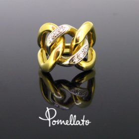 Pomellato Tango Diamonds Link Ring