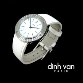 Dinh Van JDV 35mm Steel Watch