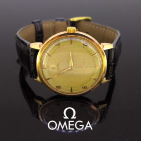 Vintage Omega Gold Manuel Wind Wristwatch